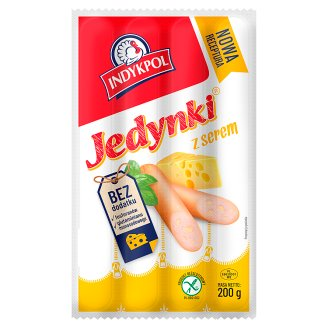 Indykpol Jedynki Thin Sausages with Cheese 200 g