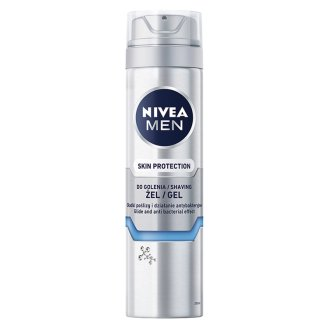 NIVEA MEN Skin Protection Żel do golenia 200 ml