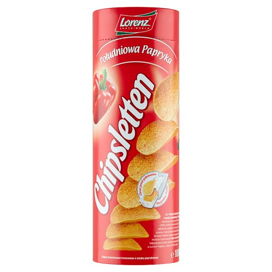 Chipsletten Mediterranean Paprika Potato Crisps 100 g
