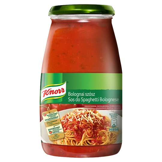 Knorr Spaghetti Bolognese Sauce with Tomatoes Basil and Oregano 500 g