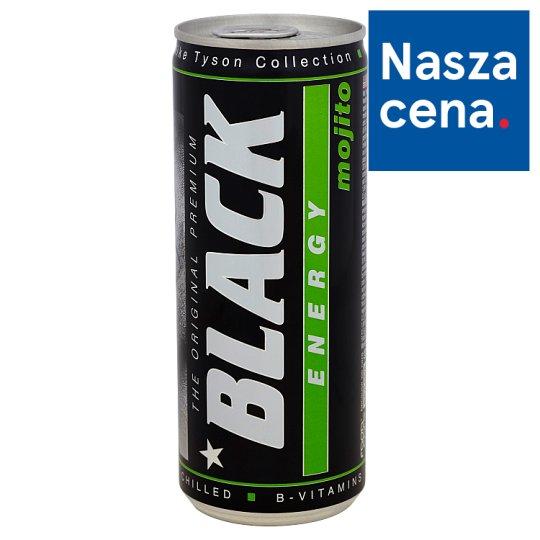 Black Energy Mojito Gazowany napój energetyzujący 250 ml