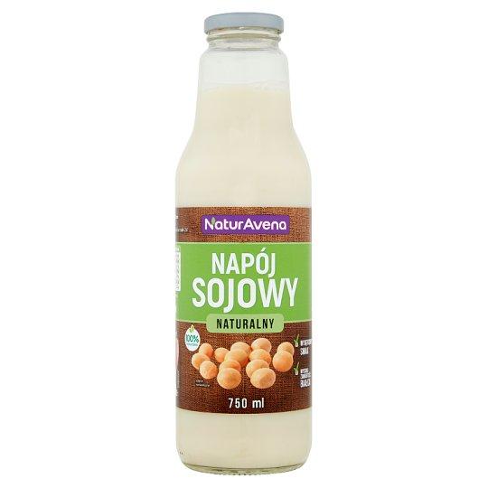 NaturAvena Napój sojowy naturalny 750 ml