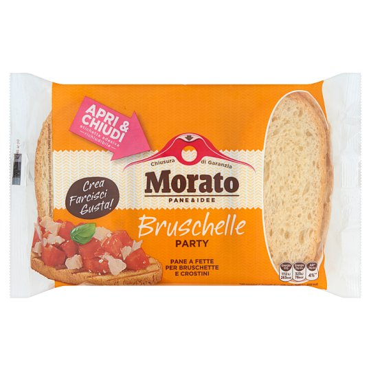 Morato Oryginalne włoskie pieczywo Bruschetta 350 g (12 sztuk)