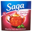 Saga Earl Grey Black Tea 60 g (40 Tea Bags)