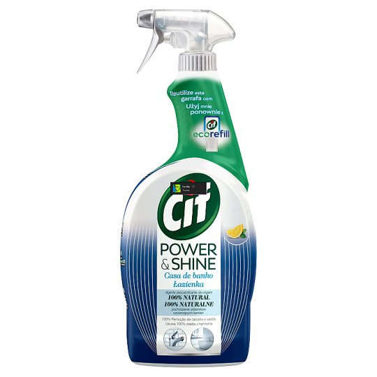 Cif Power & Shine Anti-limescale Spray 750 ml
