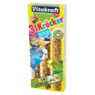 Vitakraft Kracker Supplementary Food for Parrots 90 g (3 Pieces)
