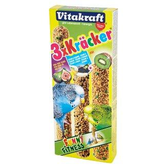 Vitakraft Kracker Supplementary Food for Parrots 90 g (3 Pieces)