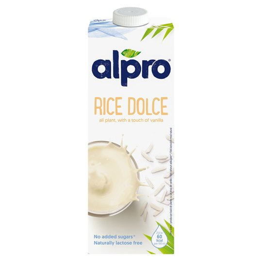 Alpro Dolce Vanilla Flavoured Rice Drink 1 L