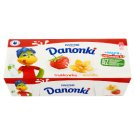 Danone Danonki Strawberry Vanilla Cottage Cheese 400 g (8 Pieces)