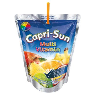 Capri-Sun Multi Vitamin Fruit Drink 200 ml
