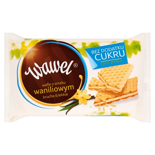Wawel No Added Sugar Vanilla Flavour Wafers 110 g