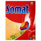 Somat Gold Lemon & Lime Tabletki do mycia naczyń w zmywarkach 760 g (40 sztuk)