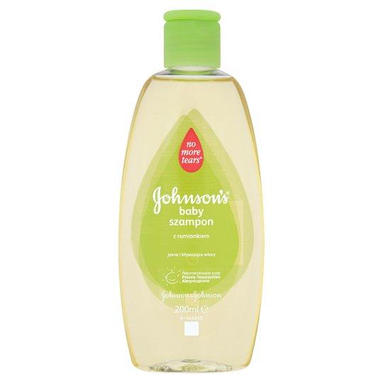 Johnson's Baby Camomile Shampoo 200 ml