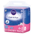NIVEA Baby Fresh & Pure Wipes 378 Pieces (6 x 63 Pieces)