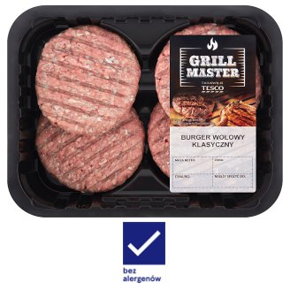 Tesco Grill Classic Beef Burger 440 g