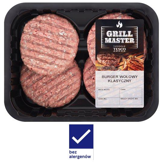 Tesco Grill Classic Beef Burger 440 g