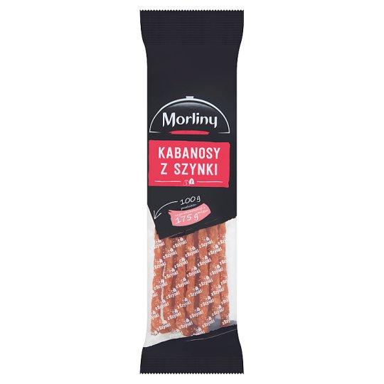 Morliny Ham Thin Sausages 105 g