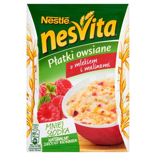 Nesvita Oatmeal with Milk and Raspberries 49 g