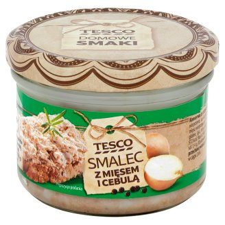 Tesco Lard with Meat and Onion 150 g