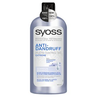 Syoss Extreme Anti-Dandruff Szampon 500 ml