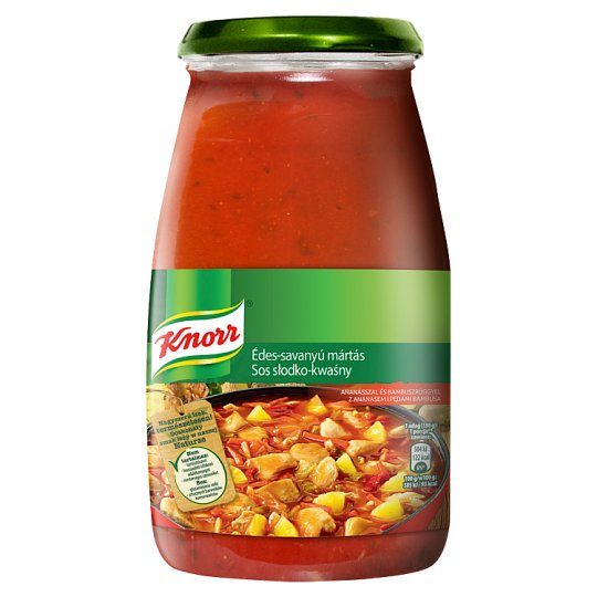 Knorr Sweet and Sour Sauce with Pineapple and Bamboo Sprouts 525 g