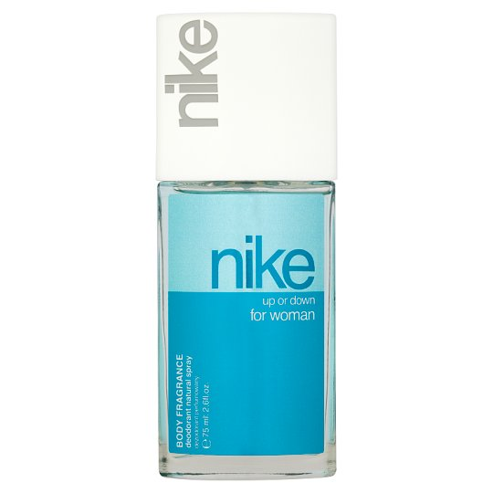 Nike Up or Down for Woman Body Fragrance Deodorant Natural Spray 75 ml