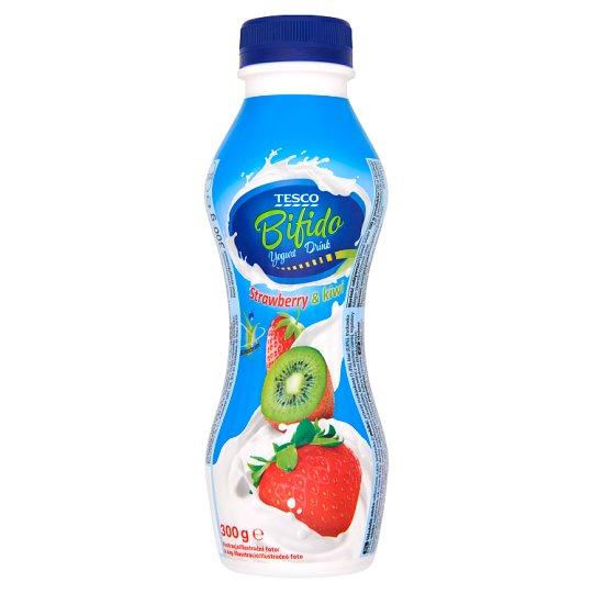 Tesco Bifido Strawberry & Kiwi Yogurt Drink 300 g