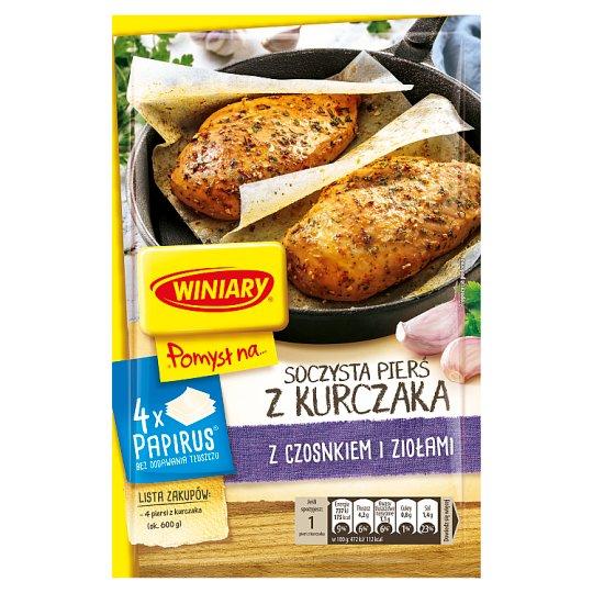Winiary Pomysł na... Juicy Chicken Breast with Garlic and Herbs 25 g