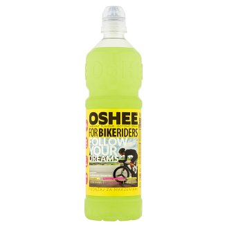 Oshee for Bike Riders Lime-Mint Flavour Isotonic Drink 0.75 L