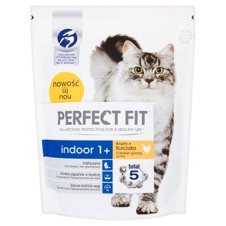 Perfect Fit Indoor 1+ Karma pełnoporcjowa dla dorosłych kotów 750 g