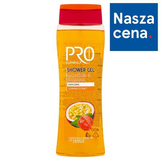 Tesco Pro Formula Maracuja & Guarana Shower Gel 400 ml