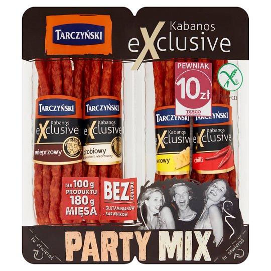Tarczyński Party Mix Exclusive Thin Smoked Sausage 200 g (4 x 50 g)