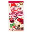 Tesco Grill Camembert 320 g (4 x 80 g) z sosem żurawinowym 50 g