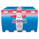 Danone Actimel Raspberry Fermented Milk 800 g (8 Pieces)