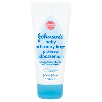 Johnson's Baby Protective Cream Against Chafing 100 ml