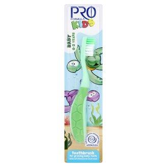 Tesco Pro Formula Kids Szczoteczka do zębów dla dzieci 0-2 lat