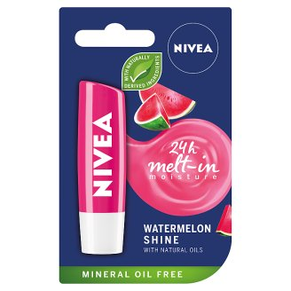 NIVEA Watermelon Shine Pielęgnująca pomadka do ust 4,8 g