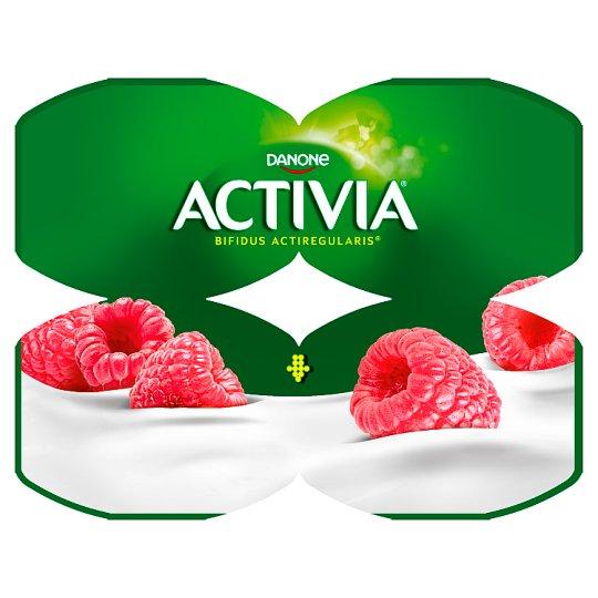 Danone Activia Raspberry Yoghurt 480 g (4 x 120 g)