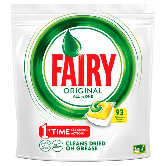 Fairy Original All In One Dishwasher Tablets Lemon x93