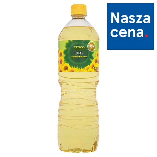 Tesco Sunflower Oil 1 L