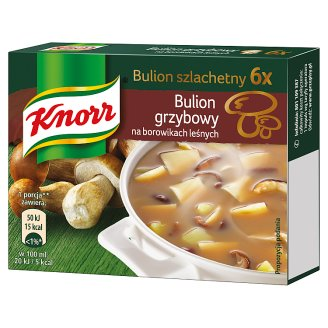 Knorr Noble Broth on Forest Mushrooms 60 g (6 Cubes)
