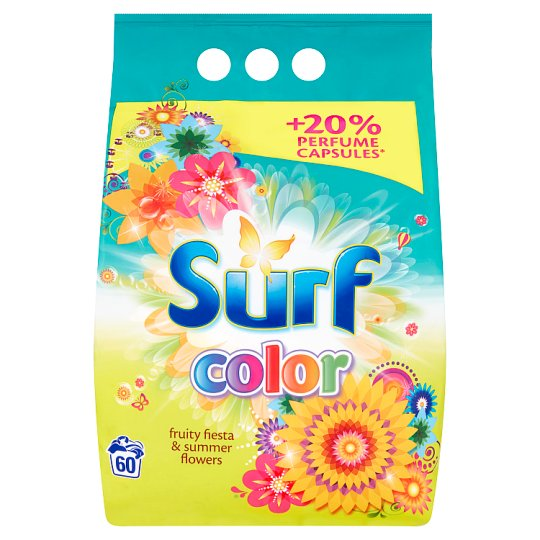 Surf Color Fruity Fiesta & Summer Flowers Washing Powder 3.9 kg (60 Washes)