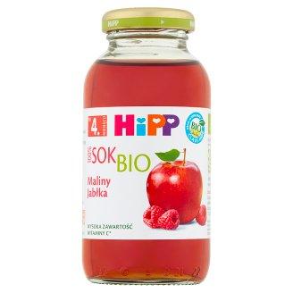 HiPP BIO Maliny-Jabłka Sok Bio 100% po 4. miesiącu 0,2 l