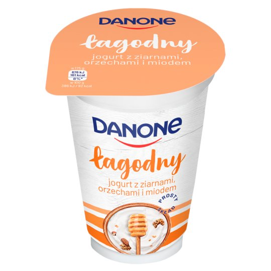 Danone Mild Natural Yoghurt with Cereal Grains 175 g
