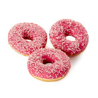 Donut with Strawberry Topping 58 g