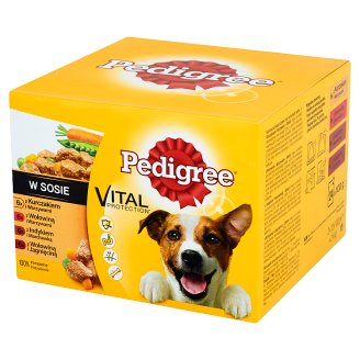 Pedigree Vital Protection in Gravy Complete Dog Food 2.4 kg (24 x 100 g)