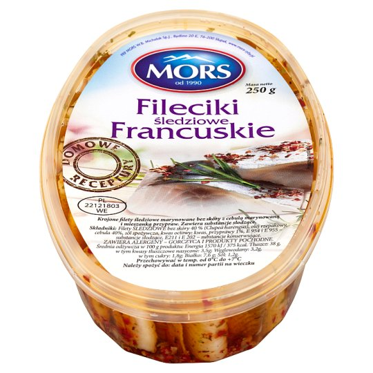 Mors French Style Herring Fillets 250 g