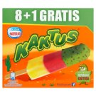 Kaktus Lemon Flavour and Strawberry Water Ice Cream 405 ml (9 x 45 ml)