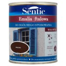 Sentic Maloftal Brown Flat Enamel 750 ml