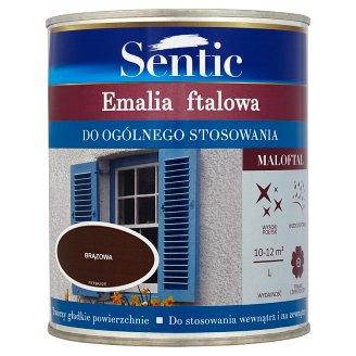 Sentic Maloftal Emalia ftalowa do ogólnego stosowania brązowa 750 ml